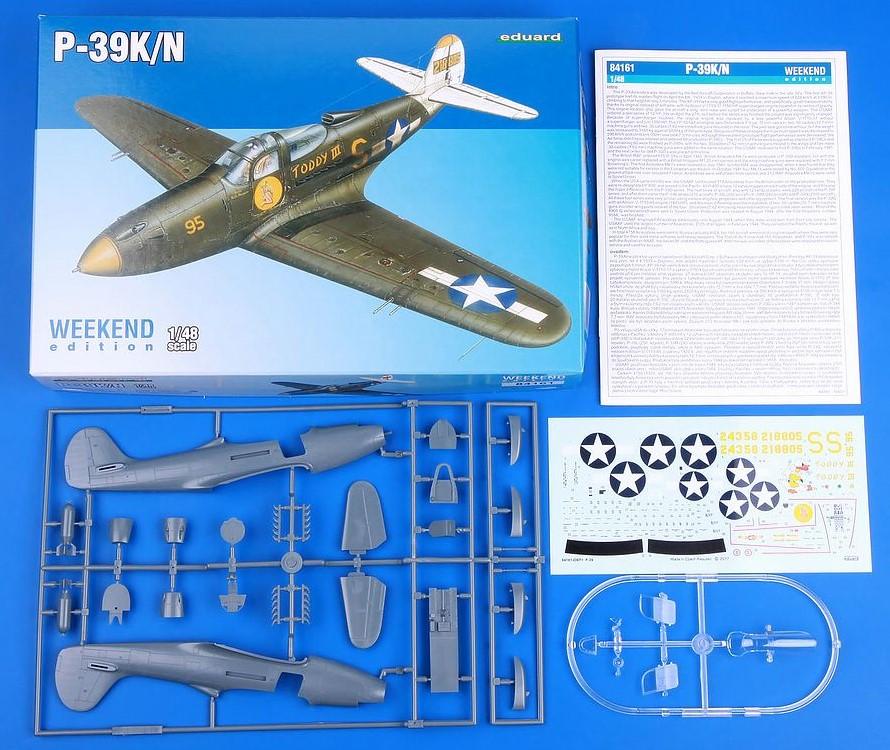 Eduard-84161-P-39-KN-Airacobra-WEEKEND-14 P-39 K/N Airacobra WEEKEND in 1.48 von Eduard# 84161
