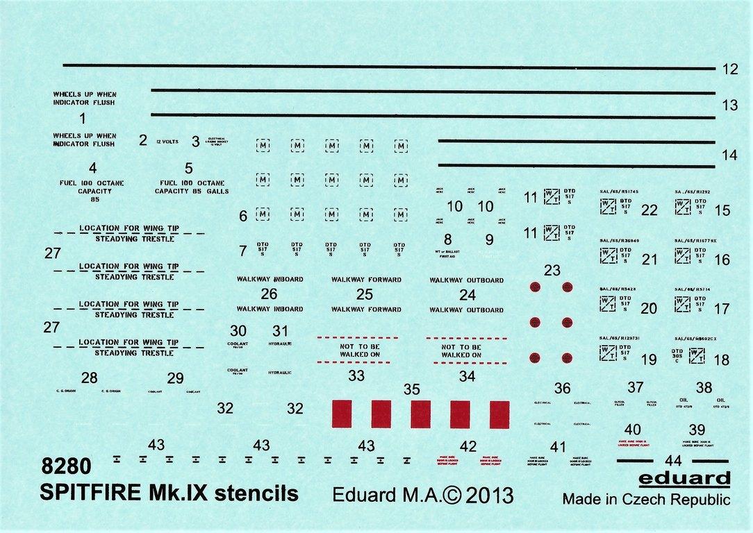 Eduard-84175-Spitfire-Mk.-IX-WEEKEND-17 Neue Weekend-Edition der Spitfire F Mk.IX von Eduard #84175