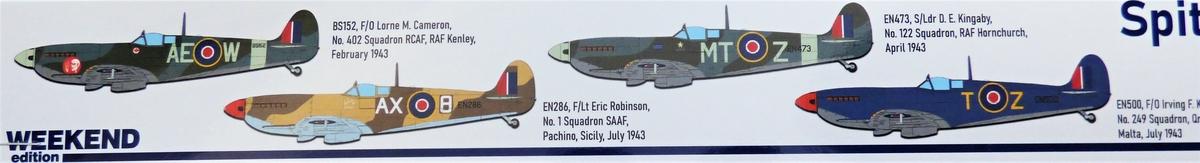 Eduard-84175-Spitfire-Mk.-IX-WEEKEND-2 Neue Weekend-Edition der Spitfire F Mk.IX von Eduard #84175