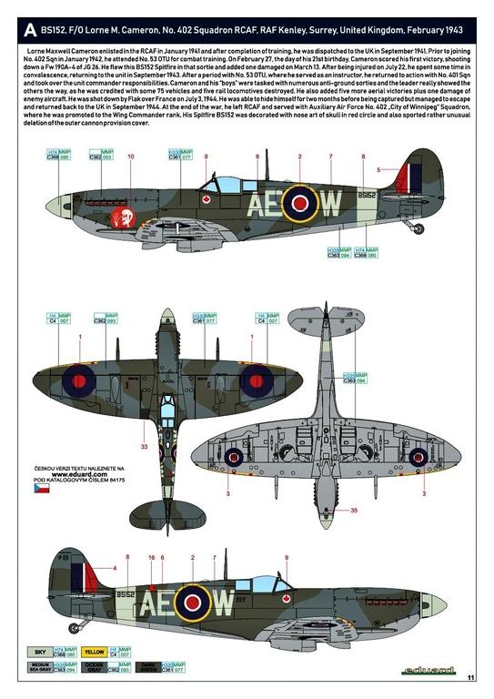 Eduard-84175-Spitfire-Mk.-IX-WEEKEND-28 Neue Weekend-Edition der Spitfire F Mk.IX von Eduard #84175