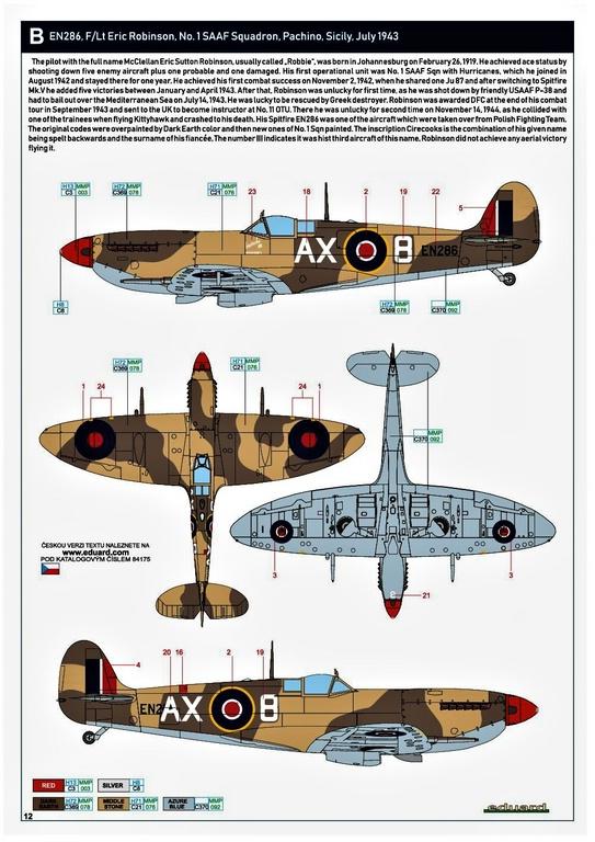 Eduard-84175-Spitfire-Mk.-IX-WEEKEND-29 Neue Weekend-Edition der Spitfire F Mk.IX von Eduard #84175