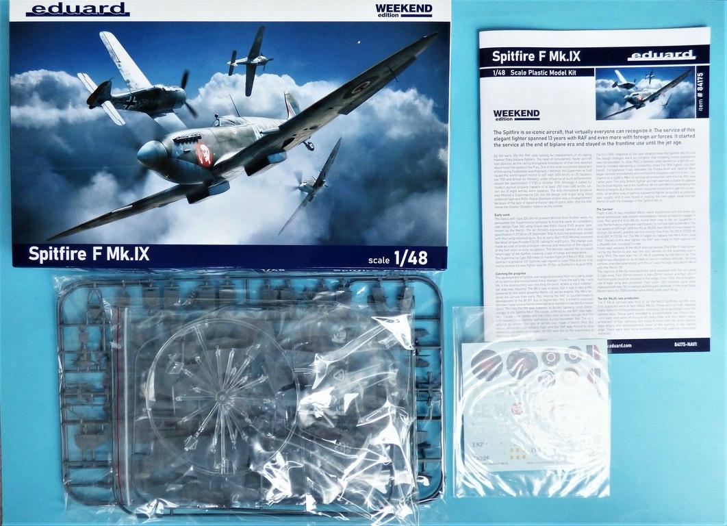 Eduard-84175-Spitfire-Mk.-IX-WEEKEND-3 Neue Weekend-Edition der Spitfire F Mk.IX von Eduard #84175