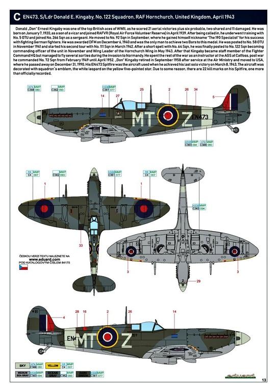 Eduard-84175-Spitfire-Mk.-IX-WEEKEND-30 Neue Weekend-Edition der Spitfire F Mk.IX von Eduard #84175