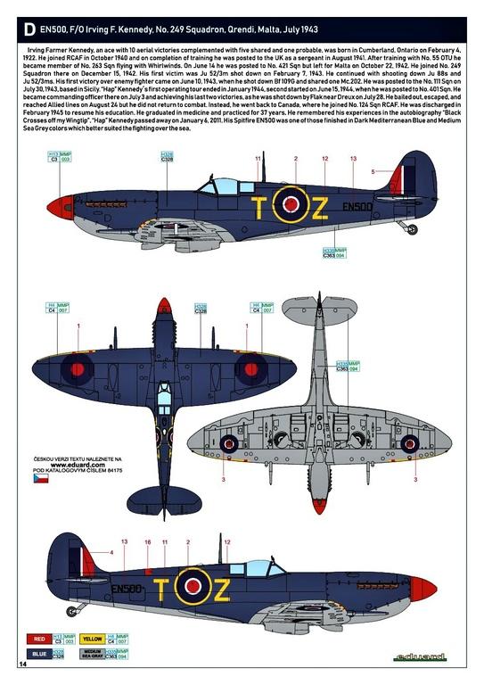 Eduard-84175-Spitfire-Mk.-IX-WEEKEND-31 Neue Weekend-Edition der Spitfire F Mk.IX von Eduard #84175