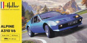 Renault Alpine A 310 V6 in 1:43 von Heller # 80146