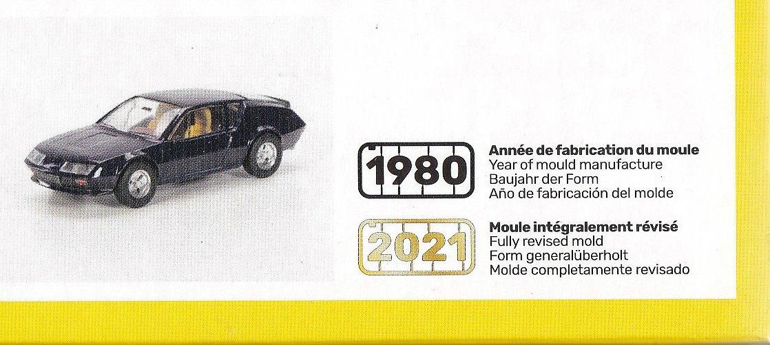 Heller-80146-Renault-Alpine-A-310-V6-2 Renault Alpine A 310 V6 in 1:43 von Heller # 80146