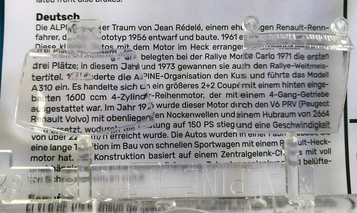 Heller-80146-Renault-Alpine-A-310-V6-23 Renault Alpine A 310 V6 in 1:43 von Heller # 80146