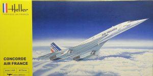 Concorde Air France in 1:125 von Heller #80445