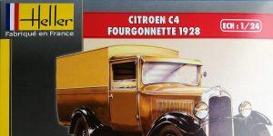 Citroen C4 Fourgonette 1928 in 1:24 von Heller # 80703