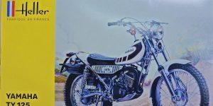 Yamaha TY 125 in 1:8 von Heller # 80902