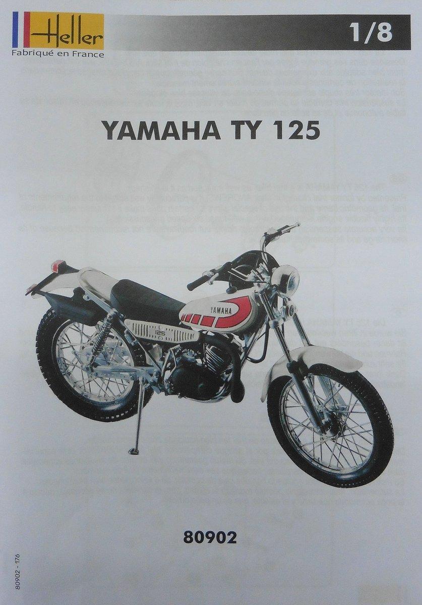 Heller-80902-Yamaha-TY-125-1zu8-16 Yamaha TY 125 in 1:8 von Heller # 80902