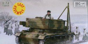 Bergepanzer III in 1:72 von IBG # 72059