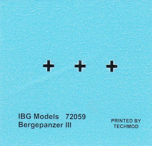 IBG-72059-Bergepanzer-III-21 Bergepanzer III in 1:72 von IBG # 72059