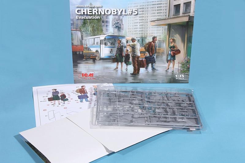 ICM-35905-Chernobyl-5-Evacuation-2 Chernobyl 5: Evacuation in 1:35 von ICM # 35905