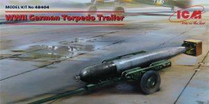 WWII German Torpedo Trailer in 1:48 von ICM #D48404