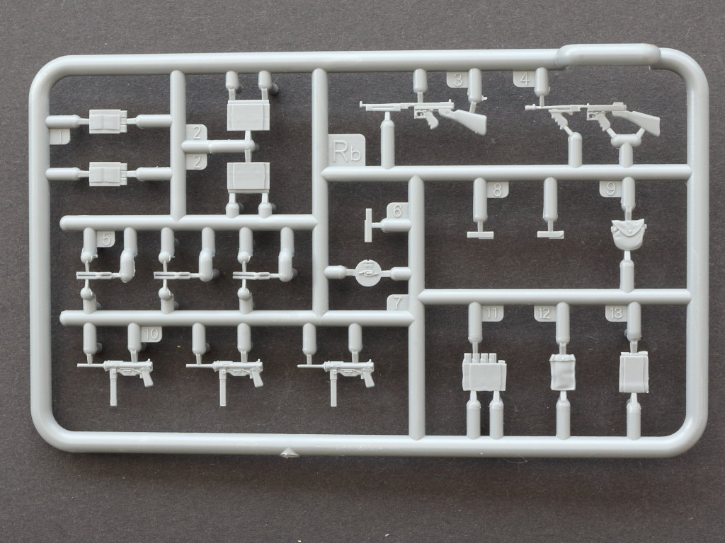IMG_0062 British Weapons & Equipment for Tank Crew & Infantry 1:35 Miniart (#35361)