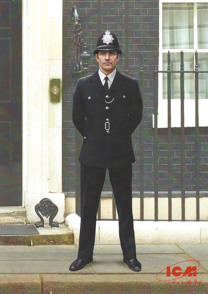 Poster British Policeman 1:16 ICM (#16011)