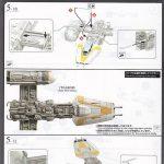 Revell-01209-Y-Wing-Starfighter-43-150x150 Y-Wing Starfighter in 1:72 von Revell # 01209