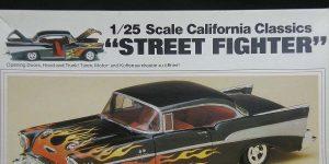 "Kit-Archäologie: California Classics 1957 Chevrolet BelAir""Street Fighter"" (#07306), Revell, 1:25"