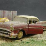 """Revell-07306-57er-Chevy-Bel-Air-16-150x150 Kit-Archäologie: California Classics 1957 Chevrolet BelAir""""Street Fighter"""" (#07306), Revell, 1:25"""