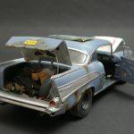 """Revell-07306-57er-Chevy-Bel-Air-20-150x150 Kit-Archäologie: California Classics 1957 Chevrolet BelAir""""Street Fighter"""" (#07306), Revell, 1:25"""