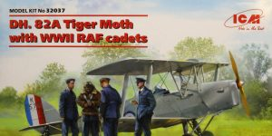 DH. 82A Tiger Moth w. RAF WWII Cadets – ICM 1:32