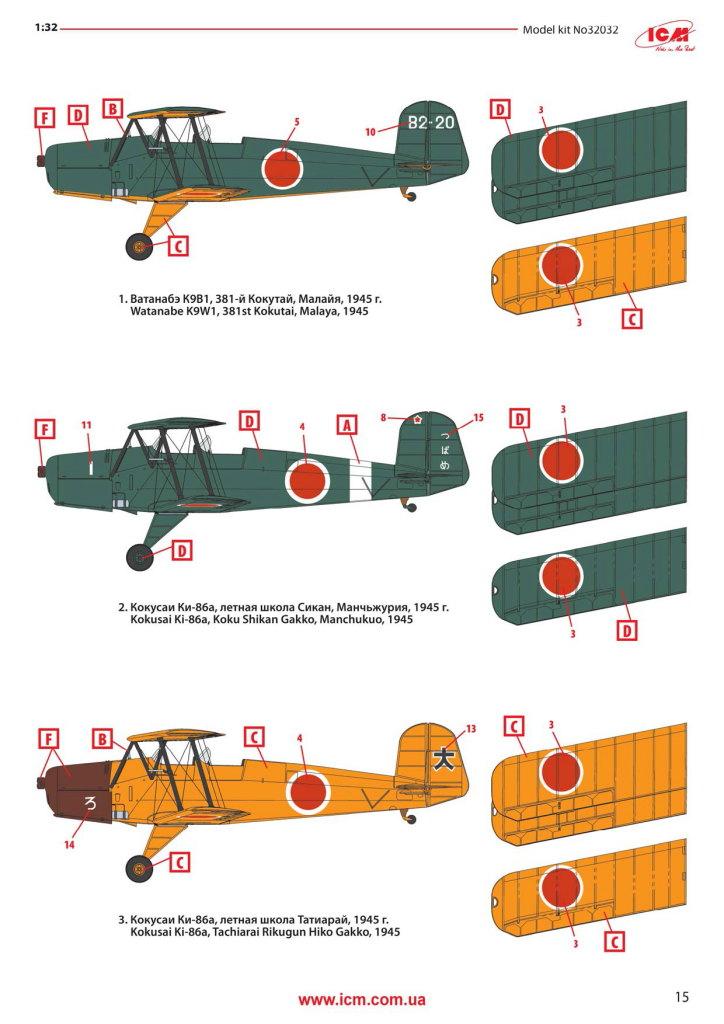 """Review_ICM_Ki-86a_35 Ki-86a/K9W1 """"Cypress"""" - ICM 1/32"""
