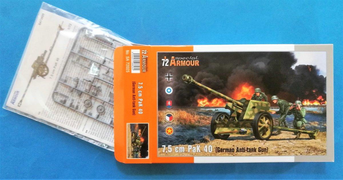 Special-Hobby-SA-72025-PAK-40-9 7,5cm PAK 40 in 1:72 von Special Armour # SA 72025