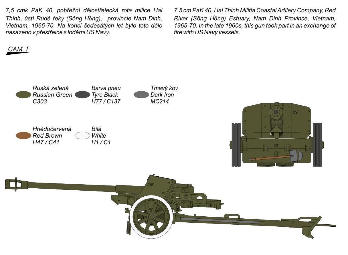 Special-Hobby-SA72025-PAK-40-7 7,5cm PAK 40 in 1:72 von Special Armour # SA 72025
