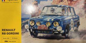 Renault R8 Gordini von Heller in 1:24