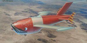 KDA-1 (Q-2A) Firebee Drone von ICM in 1:48