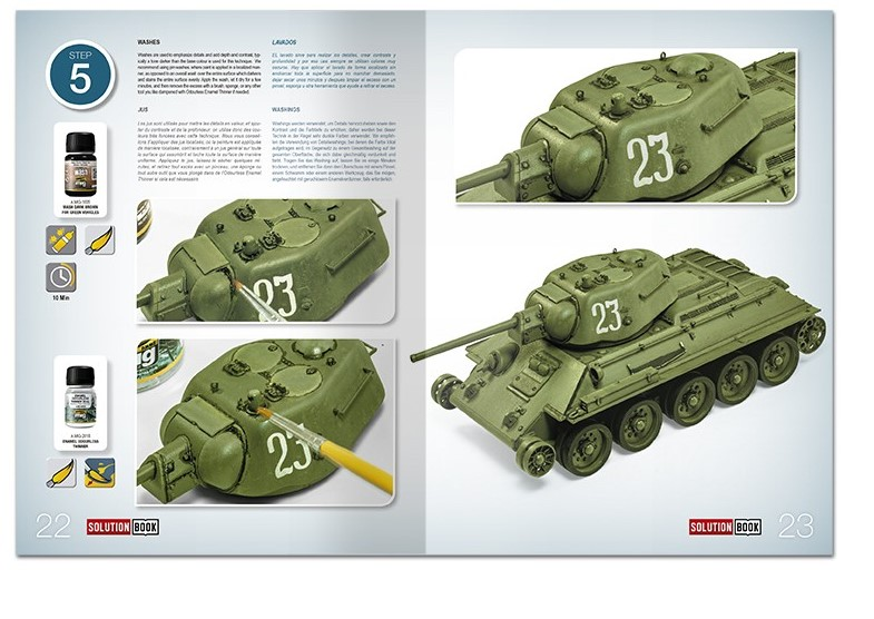 Ammo-by-Mig-How-to-paint-4BO-Russian-green-vehicles-3 Solution book: How to paint 4BO Russian green vehicles Ammo by Mig
