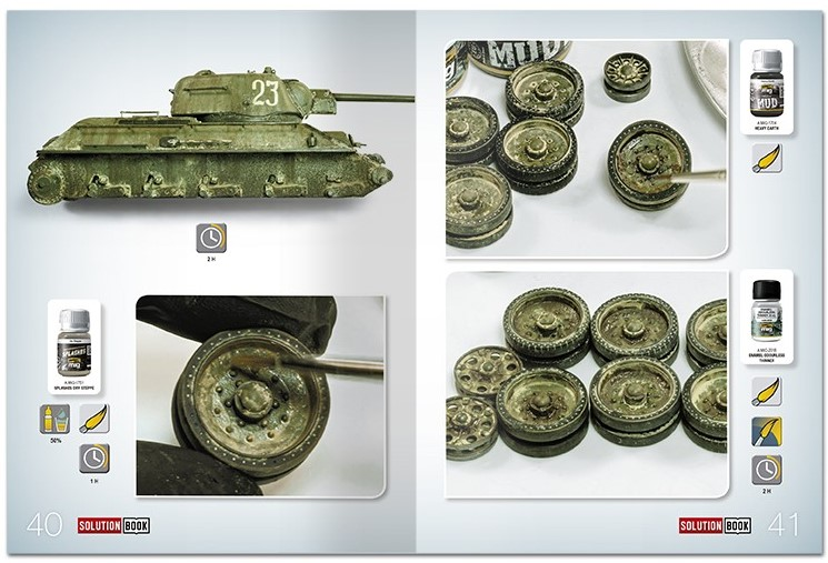 Ammo-by-Mig-How-to-paint-4BO-Russian-green-vehicles-6 Solution book: How to paint 4BO Russian green vehicles Ammo by Mig