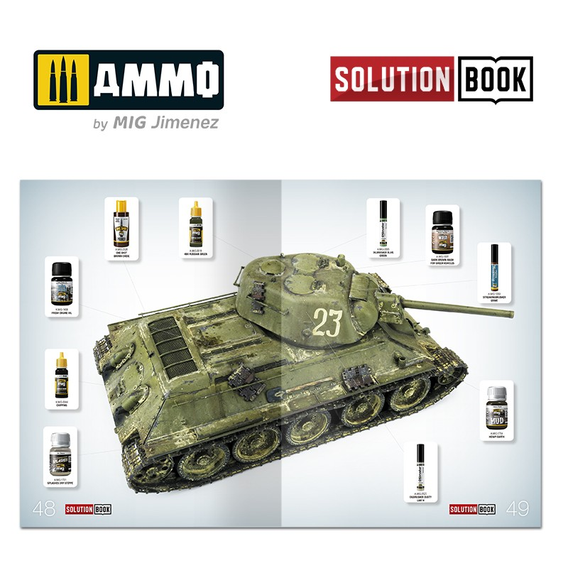 Ammo-by-Mig-How-to-paint-4BO-Russian-green-vehicles-8 Solution book: How to paint 4BO Russian green vehicles Ammo by Mig