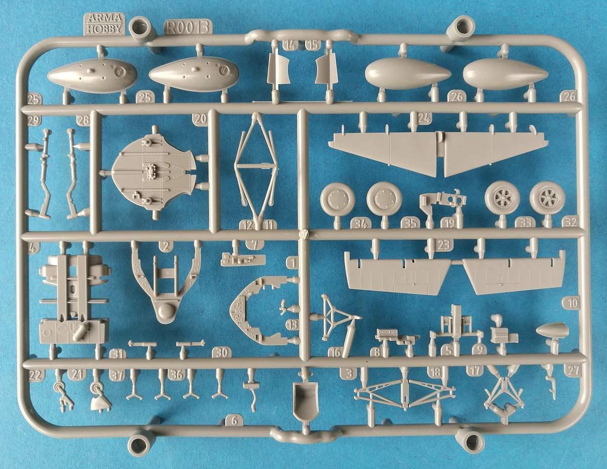 ArmaHobby-70047-F4F-4-Wildcat-EXPERT-Set-11 F4F-4 Wildcat und Martlet II in 1:72 von Arma Hobby # 70047