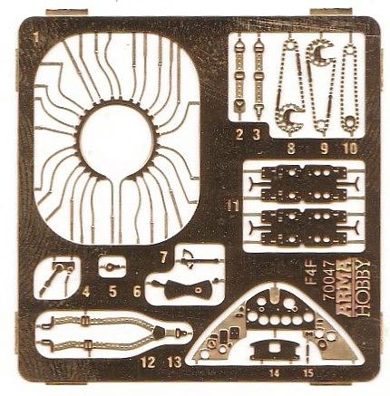 ArmaHobby-70047-F4F-4-Wildcat-EXPERT-Set-5 F4F-4 Wildcat und Martlet II in 1:72 von Arma Hobby # 70047
