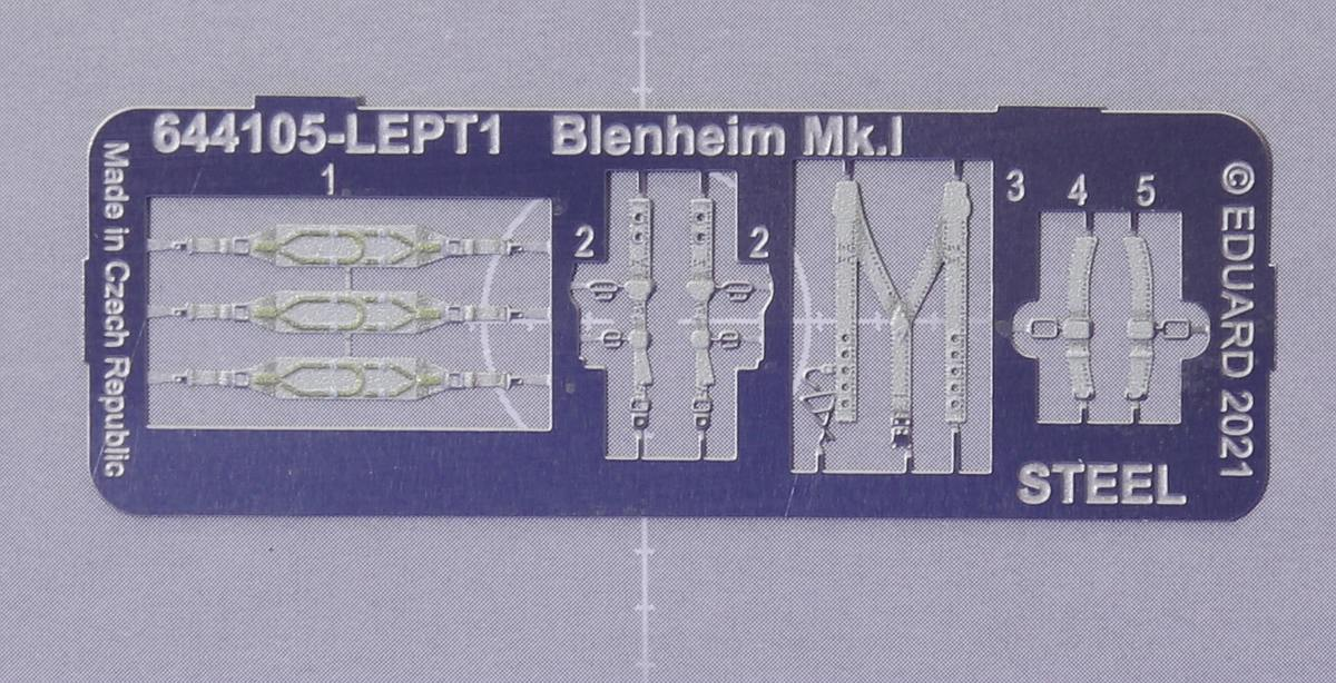 Eduard-644105-Blenheim-Mk.I-Loeoek-3 LÖÖK-Set für die Blenheim Mk. I von Airfix #