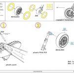 Eduard-648664-Spitfire-Mk.V-wheels-5-150x150 Gun Bays und Wheels für die Spitfire Mk. V von Eduard # 648664 / 648666