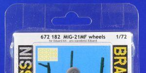 BRASSIN-Räder für die MiG-21MF von Eduard #672182