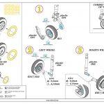 Eduard-672182-MiG-21MF-wheels-3-150x150 BRASSIN-Räder für die MiG-21MF von Eduard #672182