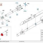 Eduard-672186-R-3S-Missiles-with-pylons-3-150x150 R-3S Raketen für MiG-21 in 1:72 von Eduard # 672184, -185 und -186