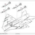 Eduard-672186-R-3S-Missiles-with-pylons-5-150x150 R-3S Raketen für MiG-21 in 1:72 von Eduard # 672184, -185 und -186