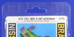 MiG-21 MF Airbrakes in 1:72 von und für Eduard # 672193