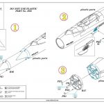 Eduard-672218-FOD-Covers-2-150x150 MiG-21 F.O.D. covers in 1:72 von Eduard #672218