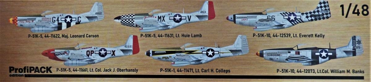 Eduard-82105-P-51K-Mustang-ProfiPAck-2 Eduard P-51K Mustang Profi-Pack in 1:48 #82105