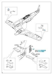 Eduard-82105-P-51K-Mustang-ProfiPAck-20-212x300 Eduard 82105 P-51K Mustang ProfiPAck (20)