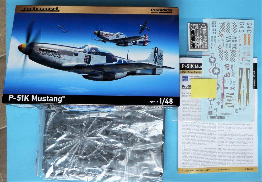 Eduard-82105-P-51K-Mustang-ProfiPAck-3 Eduard P-51K Mustang Profi-Pack in 1:48 #82105
