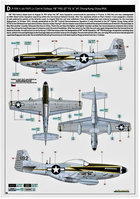 Eduard-82105-P-51K-Mustang-ProfiPAck-30 Eduard P-51K Mustang Profi-Pack in 1:48 #82105