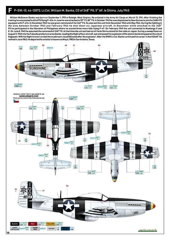 Eduard-82105-P-51K-Mustang-ProfiPAck-32 Eduard P-51K Mustang Profi-Pack in 1:48 #82105