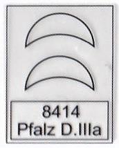 Eduard-8414-Pfalz-D.IIIa-WEEKEND-1 Pfalz D.IIIa in 1:48 von Eduard als WEEKEND-Edition #8414